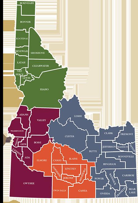 ICF 4 Regions